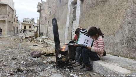 Pouco sobrou da zona leste de Aleppo após a tomada pelas tropas de Assad