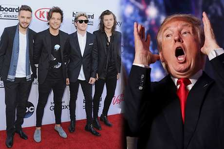 Donald Trump echó a los One Direction de su hotel.