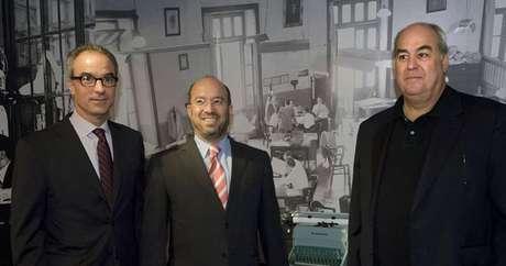 João Roberto, José Roberto e Roberto Irineu: comandantes do Grupo Globo