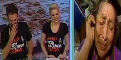 'Peluchín' no puede evitar lágrimas en programa en vivo.