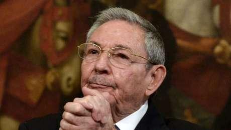 Presidente de Cuba, Raúl Castro.
