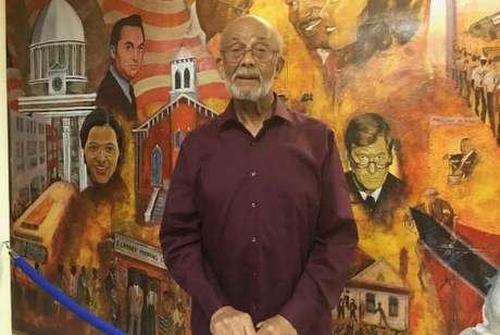 John Feagin, de 87 anos, participou da marcha do Boicote aos Ônibus no Alabama – protesto histórico no Sul do país que resultou na revogação das leis estaduais que segregavam brancos e negros no transporte público