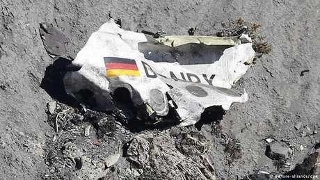 Avião caiu nos Alpes franceses em 24 de março de 2015