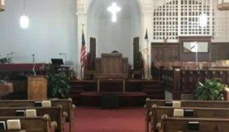 Igreja Batista da Avenida Dextel, no Alabama, onde Martin Luther King pregava