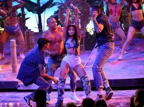 Minaj domina a la perfección el arte del twerking.