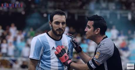 Bravo vs. el Pipa Higuaín según Kramer