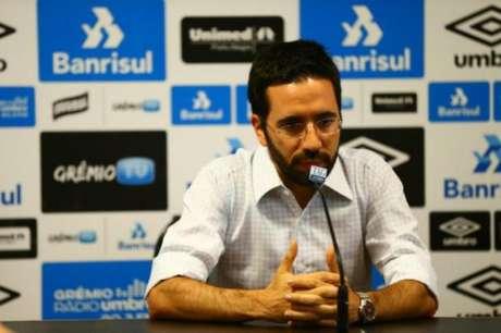 André Zanotta é o novo gerente executivo do Grêmio (FOTO: RBS)