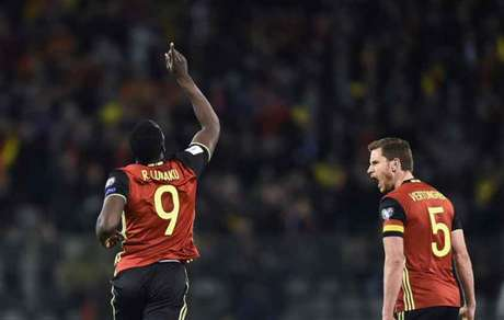 Lukaku marcou o gol de empate da Bélgica (Foto: John Thys / AFP)
