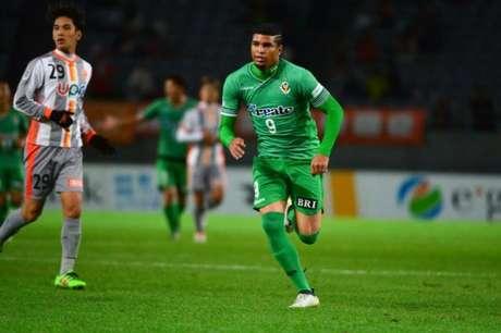 Alan Pinheiro já marcou quatro gols nesta temporada (Foto: Divulgação / Verdy Tokyo)