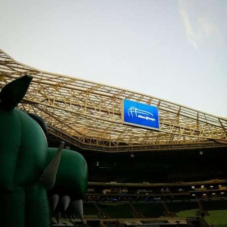 Estádio do Palmeiras terá um novo gramado por conta dos shows (Foto: Divulgação)