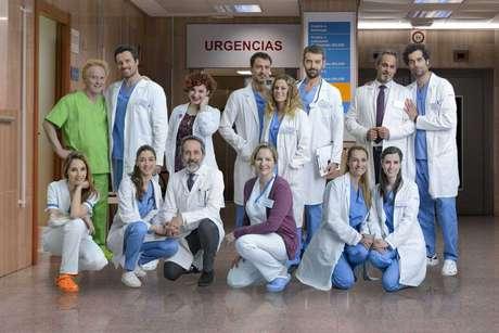 Los protagonistas de 'Centro Médico'