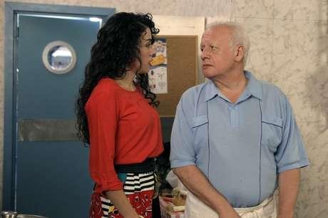 Paquita y Miguel, en 'Cuéntame cómo pasó'