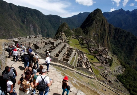 La ciudadela de Machu Picchu.