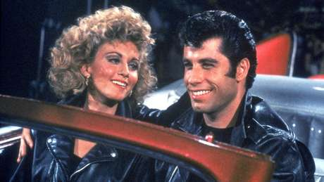 Olivia Newton-John y John Travolta en 'Grease'