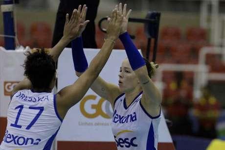 Rexona-Sesc é o atual campeão da Superliga (Foto: Alexandre Loureiro/Inovafoto/CBV)