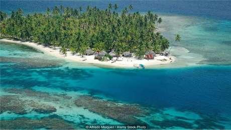 Mais de 350 ilhas formam o arquipélago de San Blas