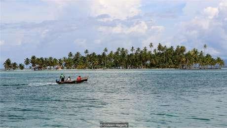 A ausência de grandes construções permite uma vista sem obstáculos de ilha para ilha