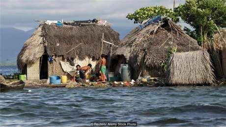 A elevação dos níveis dos oceanos ameaça o futuro do arquipélago de San Blas