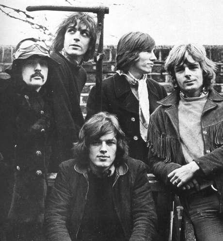 Pink Floyd ainda como quinteto, com Syd Barrett