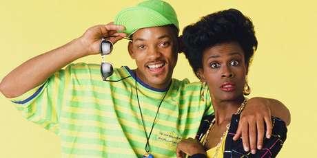 Janet Hubert, junto a Will Smith en 'El príncipe de Bel Air'