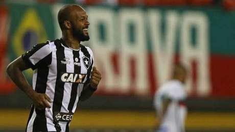 Bruno Silva marcou duas vezes na importante vitória alvinegra desta quinta-feira (Vitor Silva/SSPress/Botafogo)