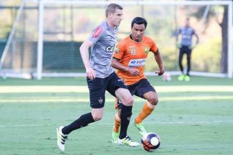 Galo empata em jogo-treino contra o Betinense (Fotos: Bruno Cantini / Atlético-MG)