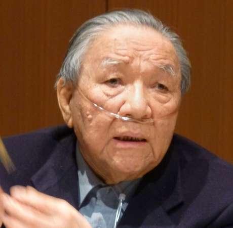 El ingeniero japonés Ikutaro Kakehashi en una foto del 12 de febrero del 2013. Kakehashi, pionero de la música digital y fundador del gigante de los sintetizadores Roland Corp., falleció, dijo su compañía ATV Corp. el lunes 3 de abril del 2017. Tenía 87 años.