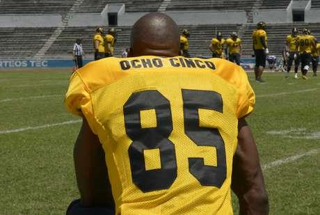 Chad Johnson o Chad Ocho Cinco jugó con los Fundidores en la Liga de Futbol Americano (LFA) en México
