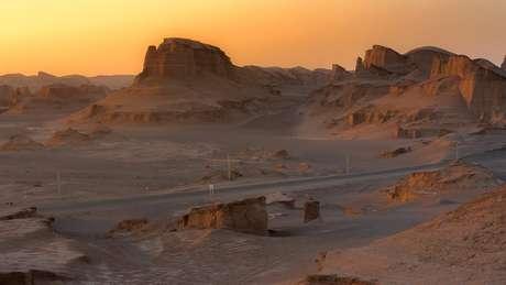 Área registrou a temperatura de 70,7ºC, o que torna o lugar o mais árido do mundo