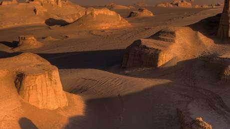 Mesmo com as temperaturas extremas, há registros de vida animal no deserto