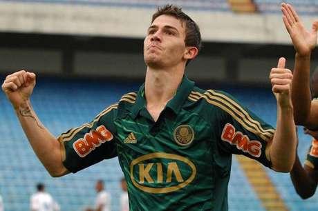 Luiz Gustavo foi revelado pelo Palmeiras em 2012 (Foto: Divulgação)