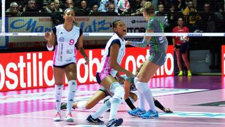 Adenízia participa da Liga Italiana pela primeira vez Lega Pallavolo Serie A Femminile