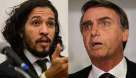 O deputado federal Jean Wyllys foi acusado de quebra de decoro parlamentar por ter cuspido no deputado Jair Bolsonaro