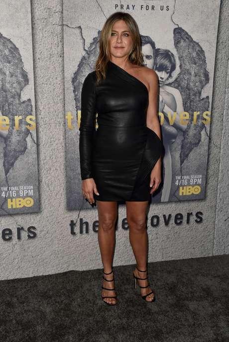 El estilo de Jennifer Aniston en la premiere de 'The Leftovers'.