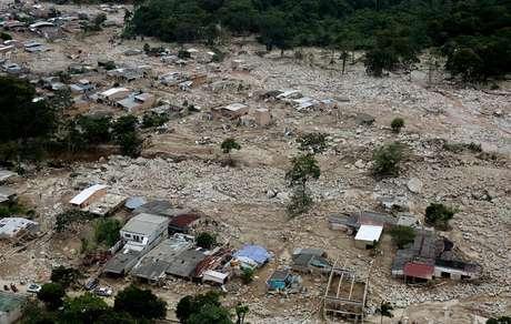 Mocoa, a cidade do sul da Colômbia, foi golpeada pela catástrofe natural que já contabiliza 286 mortos