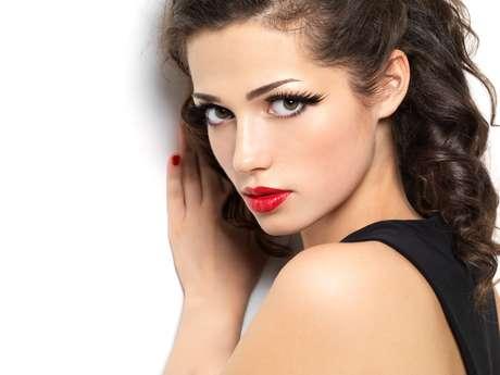 La mirada es un arma de seducción.