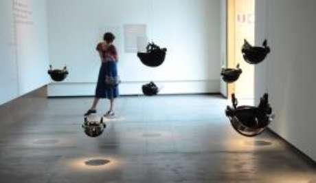 Exposição O céu ainda é azul, você sabe... da artista Yoko Ono, no Instituto Tomie Ohtake