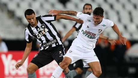 Na fase de grupos da Taça Rio, Botafogo e Fluminense se enfrentaram e o Tricolor venceu (Vitor Silva/SSPress)