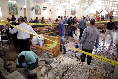 Explosão em igreja no Egito