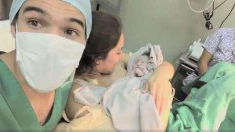 Karen Schwarz y Ezio Oliva ya son padres: nació su hija Antonia