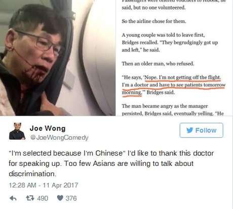 O vídeo do violento incidente postado no serviço chinês Weibo - semelhante ao Twitter - teve mais de 210 milhões de visualizações até a noite desta terça-feira (11/04).