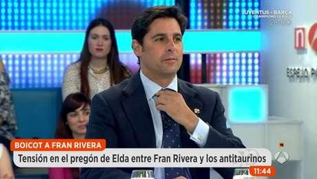 Fran Rivera en 'Espejo Público'