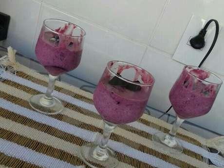 Mousse de uva mestisso