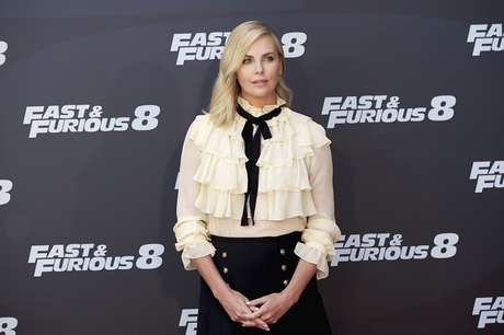 Charlize Theron, en la presentación en Madrid de 'Fast & Furious 8'