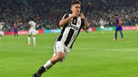 Imagens de Dybala na Juventus