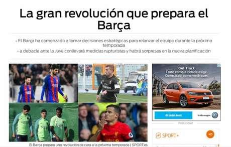 Barcelona fará grande reformulação no elenco — Jornal