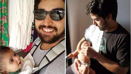 Publicitário João Ricardo Bessa optou pela paternidade integral pois tinha mais flexibilidade no trabalho