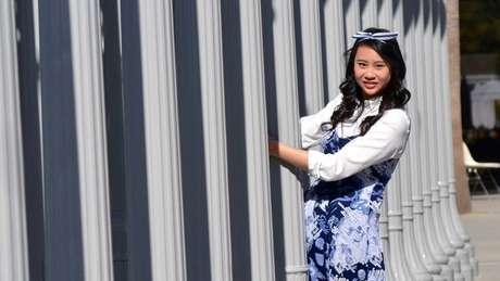 Cassandra Hsiao nasceu na Malásia e chegou aos EUA com cinco anos