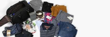 Após passar preferências de peças e ideia de estilo, o cliente recebe em casa um pacote com peças de roupas para experimentar
