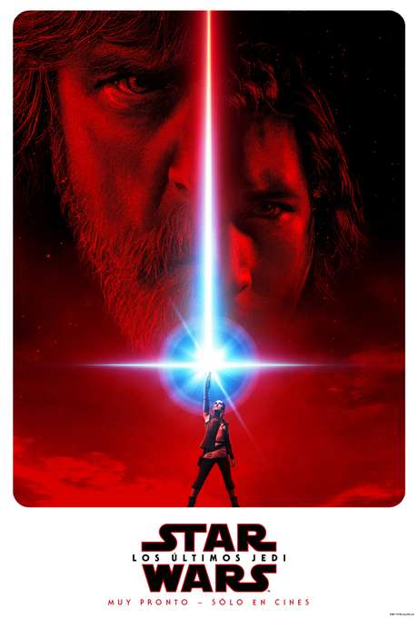 El póster oficial de 'Star Wars: Episodio VIII - Los Últimos Jedi'.